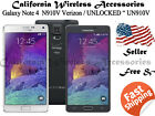 Samsung Galaxy Note 4 SM-N910V - 32GB(Verizon/ AT&T/GSM Unlocked) (A-01)
