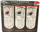 3x Callaway Golf Gloves Premium Cabretta Leather Left Hand Glove for Right Hand