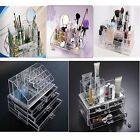 Makeup Organizer Cosmetics Case jewelry Clear drawer Cabinet Insert Holder Box