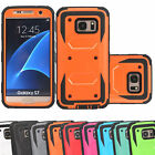 Outer Box Defend Shock Proof Hybrid Case Cover for Samsung Galaxy S7 / S7 Edge