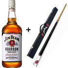 Jim Beam - Pool CUE and CASE with 700mL Bottle (Bundle)