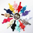 New Baby Toddler Girl Kids Cute Bowknot Headband Hair Bow Band Accessories hot