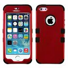 Hybrid Shockproof Hard & Soft Rugged Phone Cover Case For Apple iPhone 5 5s SE