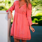 Summer Sexy Women Long Sleeve Party Evening Cocktail Casual Floral Mini Dress