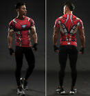 The Avengers Iron Man Tony Cosplay 3d Printing T-Shirt Men'S Sport Tights NEW
