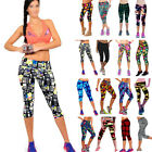 New Women Fashion Workout Leggings Fitness Sports Gym Running Yoga Pants