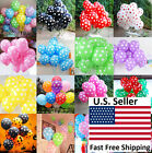 "25/50/100pcs 12"" Colorful Polka Dot Latex Balloons Party Holiday Decoration"