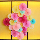 """1 x Tissue Paper Fan Flowers Decor Wedding Party Birthday Holiday 6/8/10/12/16"""""""