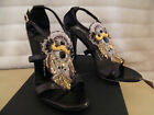 GIUSEPPE ZANOTTI SHOES sandals brown taz 100 smorf indian