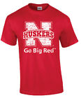 "Ink Images Youth ""Go Big Red"" Nebraska Shirt"