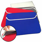 "15"" Inch Reversible Lap / Notebook Soft Slip Skin Case Sleeve Christmas gift"