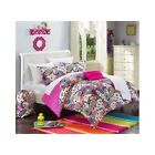 Bedroom Comforter Set 10Pc Bed In A Bag With Sheets Kids Teens Dorms Full Twin
