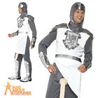 Adult Knight to Remember Costume Mens Funny Crusader Medieval Fancy Dress New