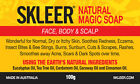 Keratosis Pilaris,KP Removal Soap~Natural Skin Remedy for rash on face/legs/arms