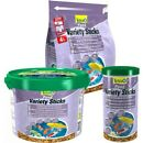 TETRA VARIETY STICKS - 1L / 4L / 10L - Pond Fish Food Pet Wheatgerm bp Feed Koi