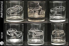 Glass Engraved Tumbler Rover V8 Cobra MG TVR SD1 Morgan FS1E Fathers day gift