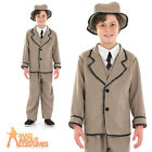 Child Edwardian Boy Costume Book Week Day Fancy Dress Outfit New