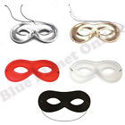 DOMINO FACE EYE MASK FANCY DRESS COSTUME PARTY MASQUERADE BANDIT SUPERHERO
