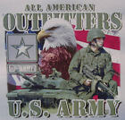ALL AMERICAN OUTFITTERS U.S. ARMY MILITARY  SHIRT #1097