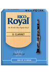 Brand New Rico Royal Eb Clarinet Reeds, 10-pack, RBB10