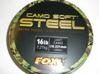 Fox Camo Soft Steel Light Mono Mainline 1000m ALL VARIETIES