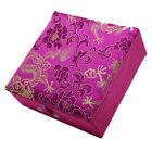 Chinese Handmade Classic Brocade Square Jewelry Boxes Storage Boxes Craft Gift
