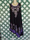 SR FASHION EMBROIDERED TIE DYE DRESS FREE SIZE XS-XL DIFFERENT COLORS PEASANT
