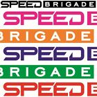 Speed Brigade Aufkleber Design Tuning Car Sticker Heck & Frontscheibe