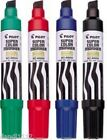 Black Blue Red or Green Pilot Jumbo Refillable Permanent Super Color Marker