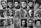 Star Trek TOS 40th Anniversary Portrait Card Singles PT1-PT18