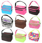 Lunch Tote Personalized Monogram Name Insulated Lunchbox Girl Bag School