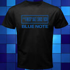 Blue Note Jazz Music Records Black T-Shirt Size S to 3XL image
