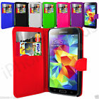7 Colour Leather Wallet Flip Mobile Phone Case For Samsung Galaxy S5 Neo
