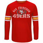 San Francisco 49ers Red Long Sleeve T-Shirt - New With Tags - FREE SHIP! image