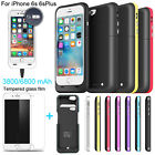 3800mAh External Battery Backup Charger Case Cover Pack Power Bank for iPhone 6