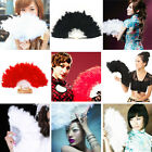 Внешний вид - New Fluffy Lady Burlesque Wedding Hand Fancy Dress Costume Dancing Feather Fan