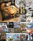 Animal Photographic Print Quilt Duvet Cover & Pillowcases Bedding Bed Sets New