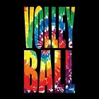 TIE DYE VOLLEYBALL T-SHIRT (UNISEX FIT)  SPORTS