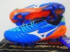 MIZUNO WAVE IGNITUS 3 MD FOOTBALL SOCCER CLEATS BOOTS BLUE