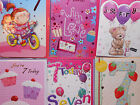 birthday cards  for  7 years old,girl,cute,cakes,gift, qualitydifferent designs