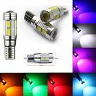 1/2/4pcs T10 6SMD LED Car Auto Bulb Error Side Signal Canbus Light Lampen