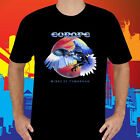 New Europe Wings of Tomorrow Men's Black T-Shirt Size S to 3XL
