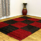 SMALL MEDIUM RED BROWN HIGH QUALITY  5CM SHAGGY CHEAP AREA RUGS FOR SALE