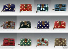 LADIES NEW DESIGNER OILCLOTH FLOWER OWL HORSE LEAF DOTS COIN PURSE GIFT WALLET