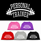 Personal Trainer Dog T Shirt