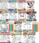 Kids Colouring Book With Colouring Pencils