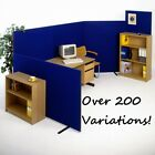 180cm (h) Free Standing Linking Office Partition Room Divider Privacy Screens