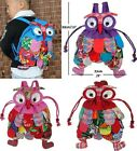 FD4592 Kid Children Cute Owl Bird Animal Cartoon SchoolBag Backpack Bag Mochila