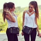 Fashion Women Summer Vest Top Sleeveless Shirts Blouse Casual Tank Tops T-Shirt0
