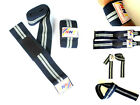 NNT 3 in 1 Weight Lifting Wrist/Knee/Bar Strap Available in L 16''/78''/21''